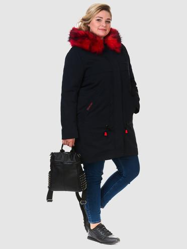 Пуховик текстиль, цвет темно-синий, арт. 26901013  - цена 4490 руб.  - магазин TOTOGROUP