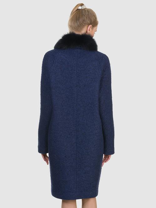 Текстильное пальто артикул 26902700/44 - фото 3