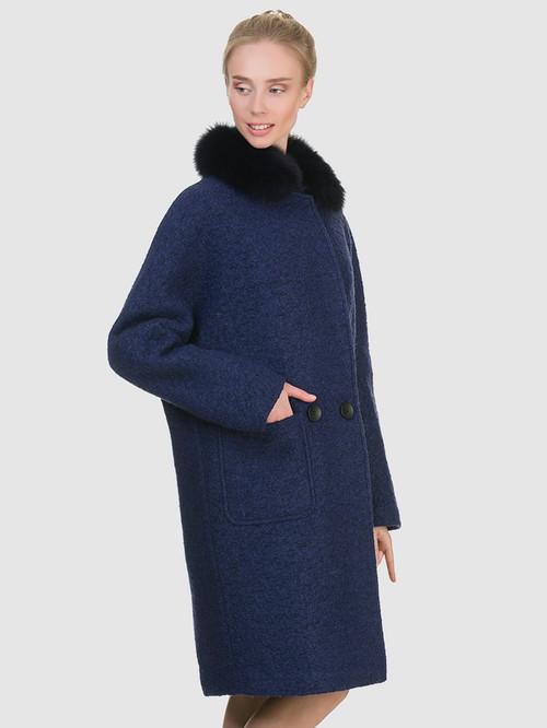 Текстильное пальто артикул 26902700/44 - фото 4