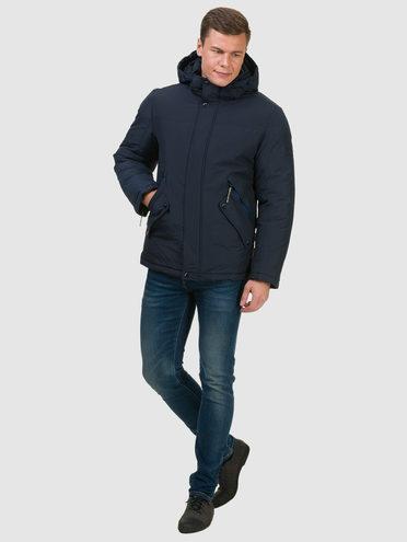 Пуховик текстиль, цвет темно-синий, арт. 26902739  - цена 3990 руб.  - магазин TOTOGROUP