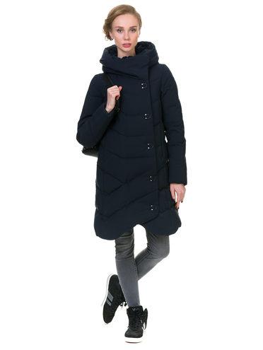 Пуховик текстиль, цвет темно-синий, арт. 26902826  - цена 3990 руб.  - магазин TOTOGROUP
