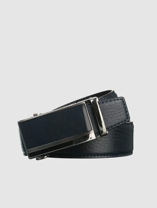 Ремень кожа теленок, цвет темно-синий, арт. 26903238  - цена 1750 руб.  - магазин TOTOGROUP