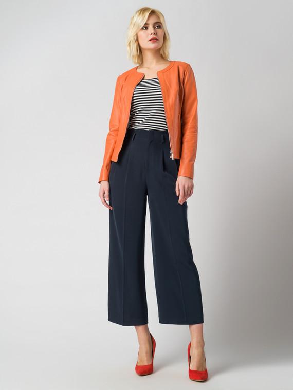 Кожаная куртка кожа , цвет оранжевый, арт. 28005487  - цена 8990 руб.  - магазин TOTOGROUP