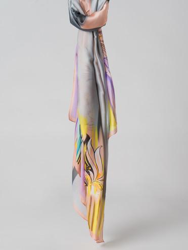 Шарф 80% п\э, 20% шелк, цвет коралловый, арт. 28006126  - цена 990 руб.  - магазин TOTOGROUP