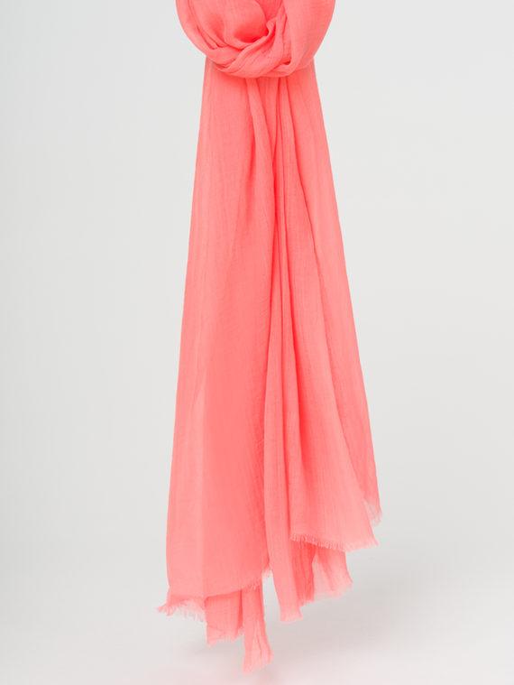 Шарф 100% бамбук, цвет коралловый, арт. 28107795  - цена 990 руб.  - магазин TOTOGROUP