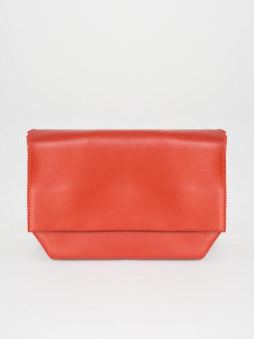 Сумка эко-кожа 100% П/А, цвет коралловый, арт. 28810485  - цена 1950 руб.  - магазин TOTOGROUP