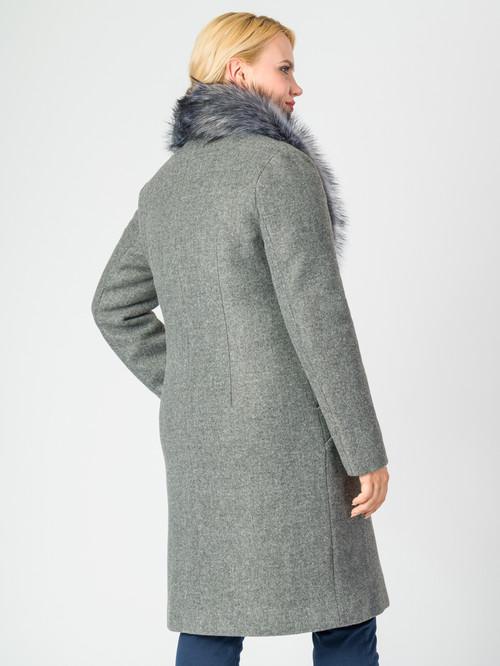 Текстильное пальто артикул 29006811/46 - фото 3