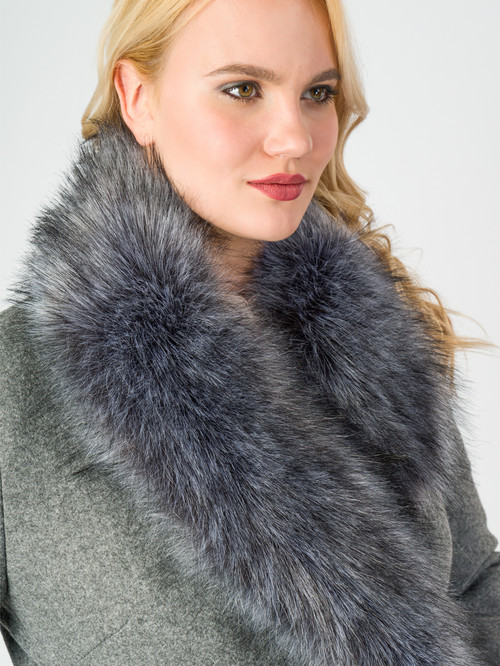 Текстильное пальто артикул 29006811/46 - фото 4