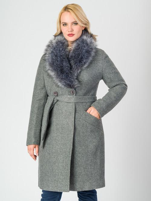 Текстильное пальто артикул 29006811/46