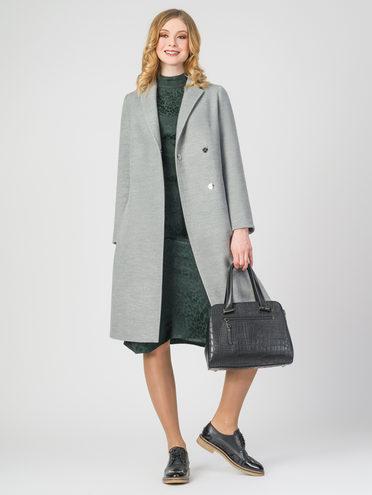 Текстильное пальто 30%шерсть, 70% п.э, цвет светло-серый, арт. 29107899  - цена 5290 руб.  - магазин TOTOGROUP