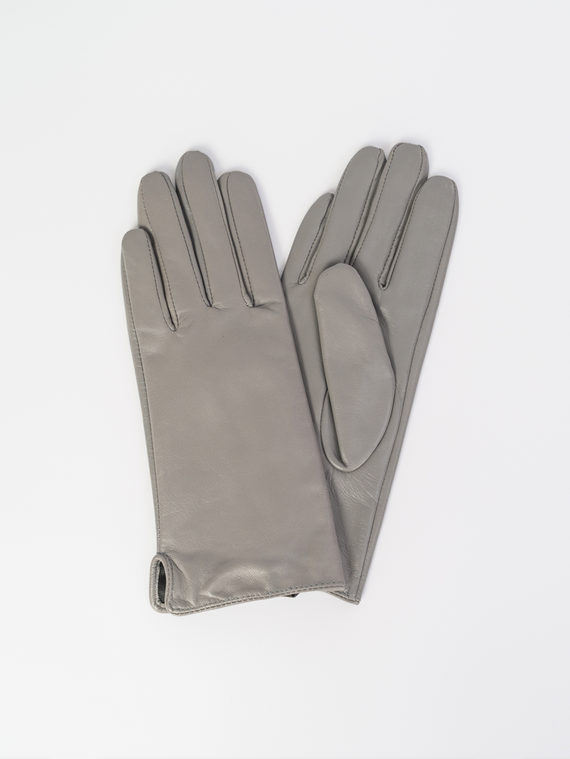 Перчатки кожа , цвет светло-серый, арт. 29107987  - цена 1490 руб.  - магазин TOTOGROUP