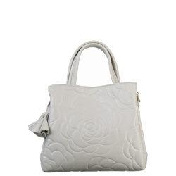 Сумка кожа, цвет светло-серый, арт. 29700575  - цена 5990 руб.  - магазин TOTOGROUP