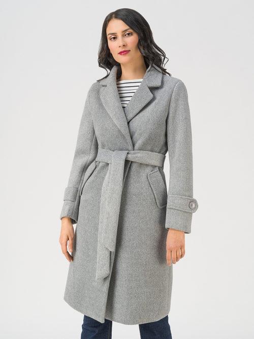 Текстильное пальто артикул 29711393/44 - фото 2