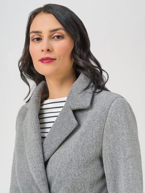 Текстильное пальто артикул 29711393/44 - фото 3