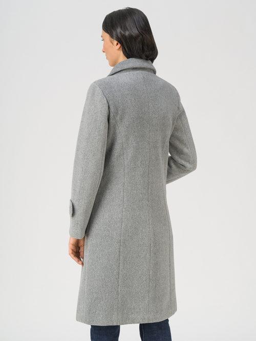 Текстильное пальто артикул 29711393/44 - фото 4