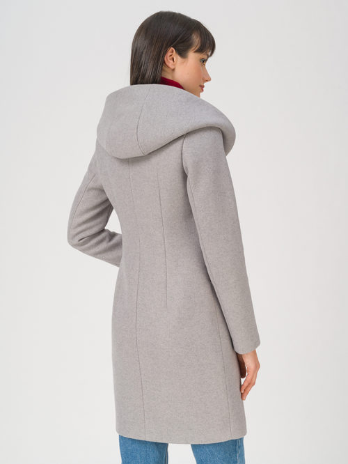 Текстильное пальто артикул 29711412/42 - фото 4