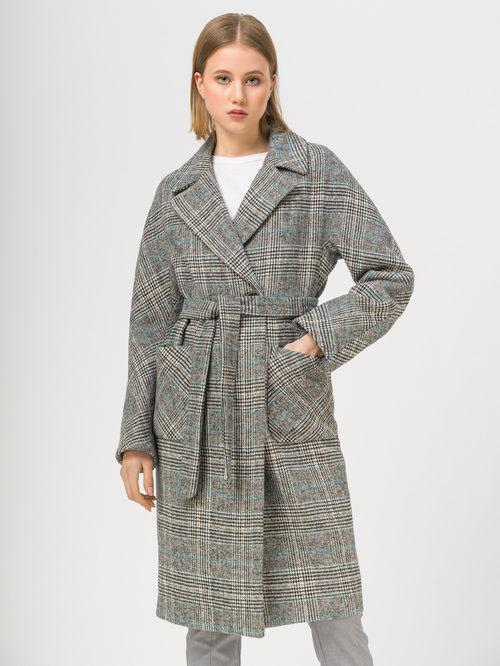 Текстильное пальто артикул 29809284/50 - фото 2