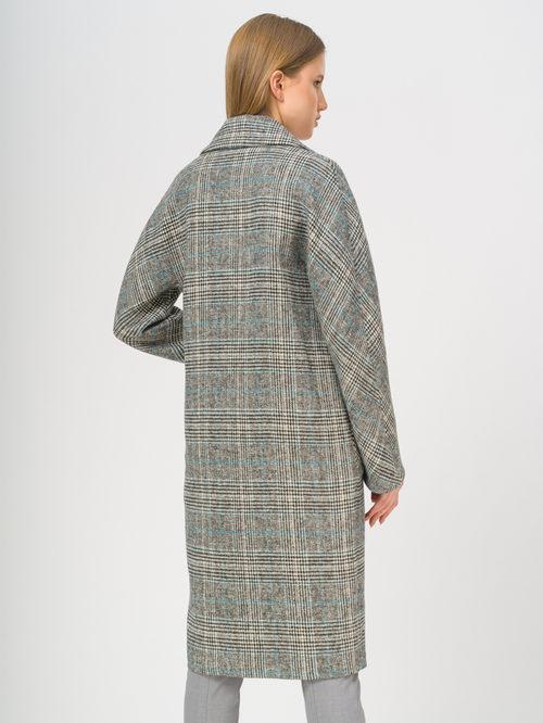 Текстильное пальто артикул 29809284/50 - фото 3