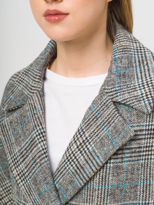 Текстильное пальто артикул 29809284/50 - фото 4