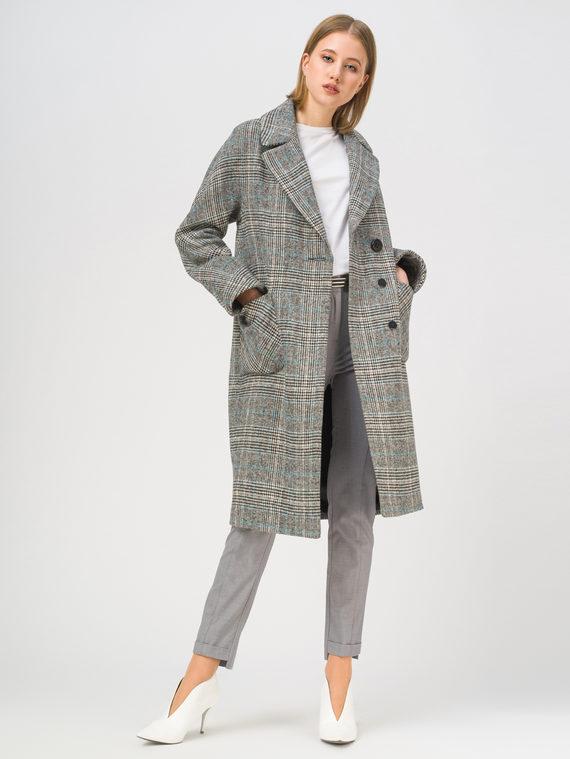 Текстильное пальто , цвет светло-серый, арт. 29809284  - цена 7490 руб.  - магазин TOTOGROUP