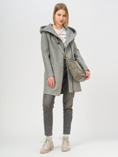 Текстильное пальто артикул 29809285/42 - фото 2