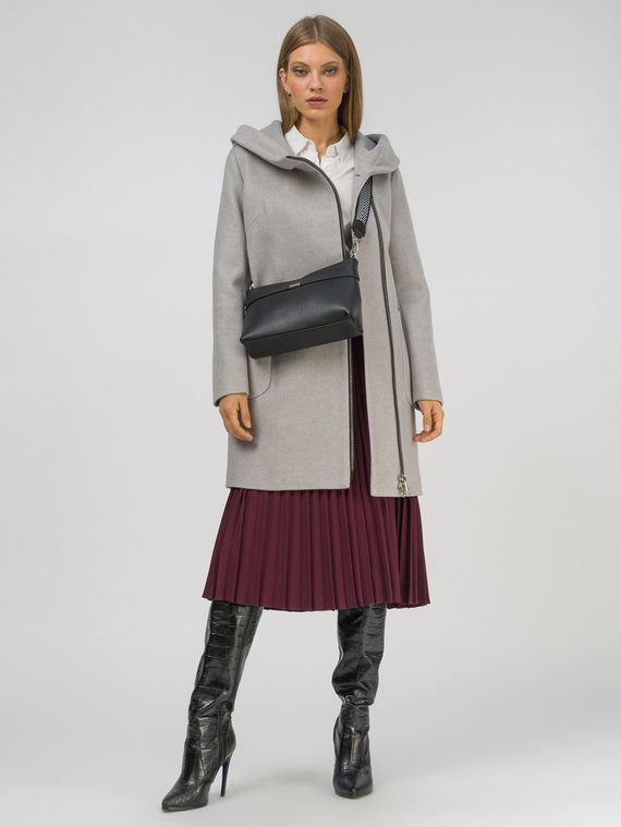Текстильное пальто , цвет светло-серый, арт. 29809286  - цена 7490 руб.  - магазин TOTOGROUP