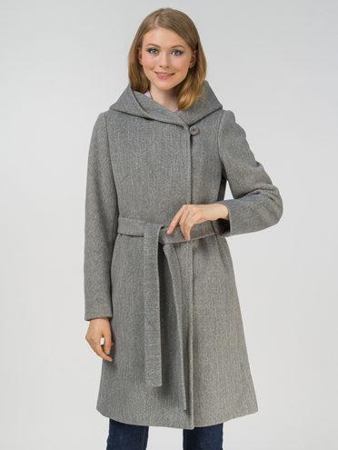 Текстильное пальто , цвет светло-серый, арт. 29809325  - цена 4990 руб.  - магазин TOTOGROUP