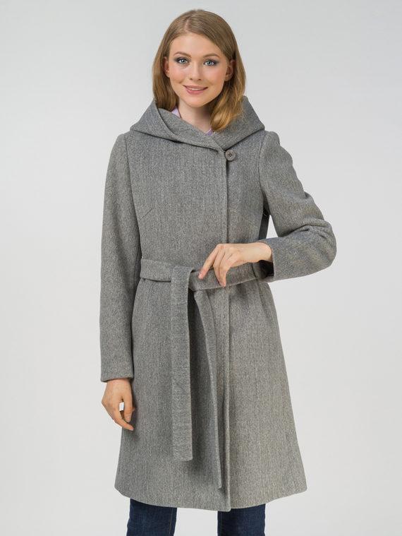 Текстильное пальто , цвет светло-серый, арт. 29809325  - цена 5890 руб.  - магазин TOTOGROUP