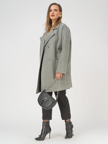 Текстильное пальто 35% шерсть, 65% полиэстер, цвет светло-серый, арт. 29809993  - цена 5890 руб.  - магазин TOTOGROUP