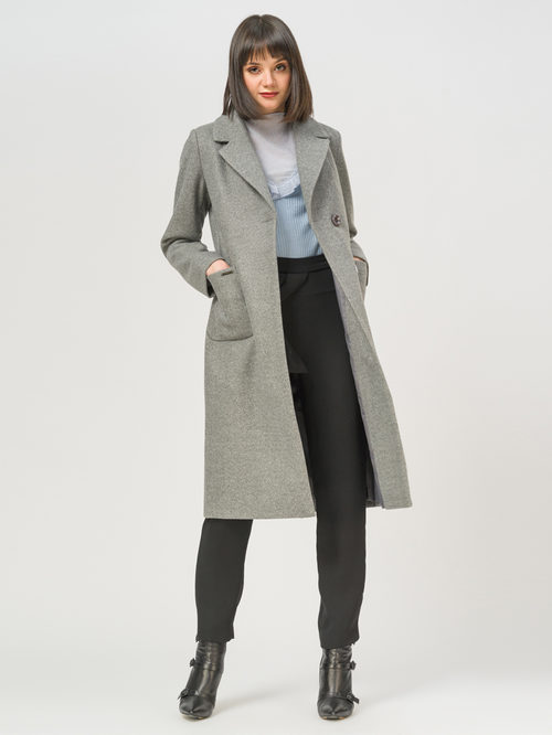 Текстильное пальто артикул 29810093/50 - фото 2