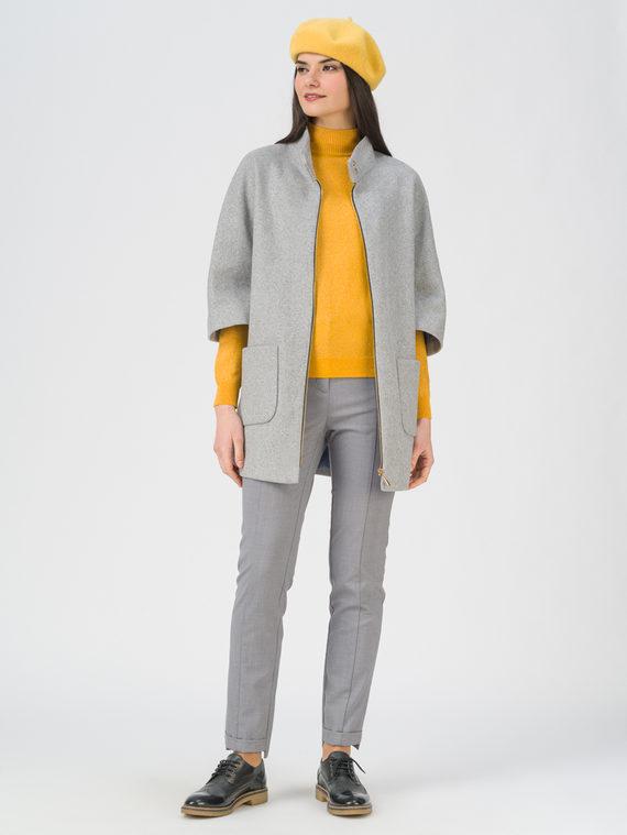 Текстильная куртка 35% шерсть, 65% полиэстер, цвет светло-серый, арт. 29810102  - цена 2990 руб.  - магазин TOTOGROUP