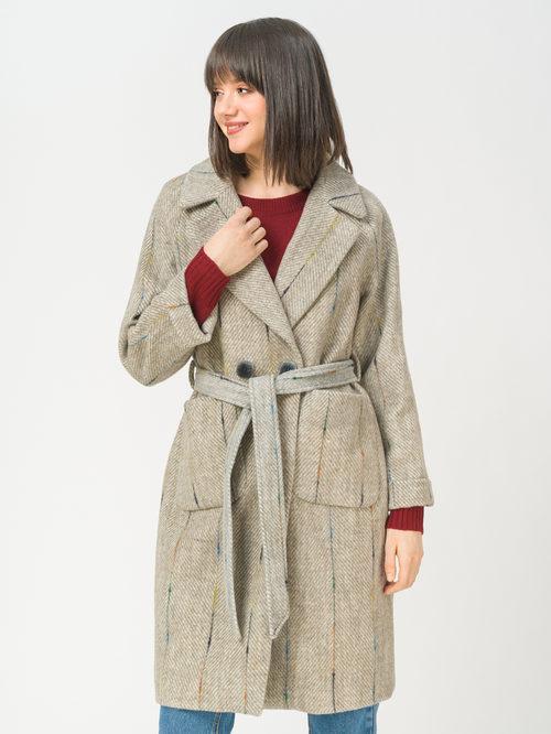Текстильное пальто артикул 29810106/40 - фото 2