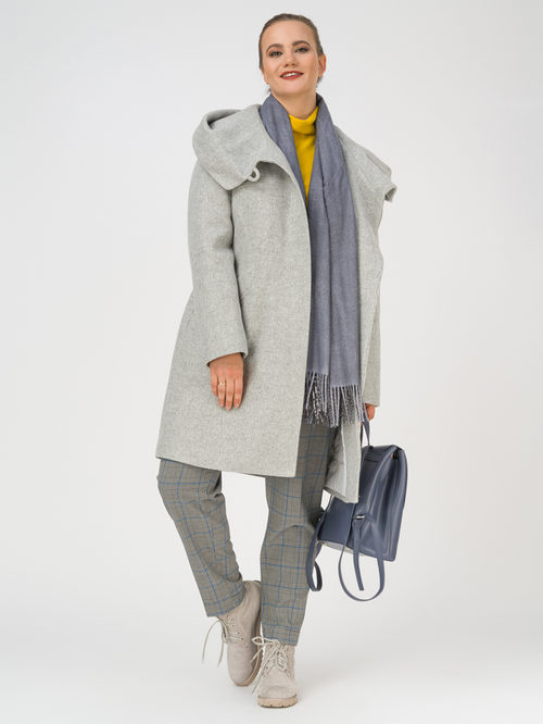 Текстильное пальто артикул 29810666/50 - фото 2