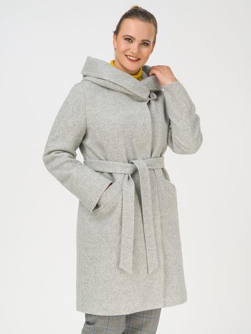 Текстильное пальто артикул 29810666/50 - фото 3