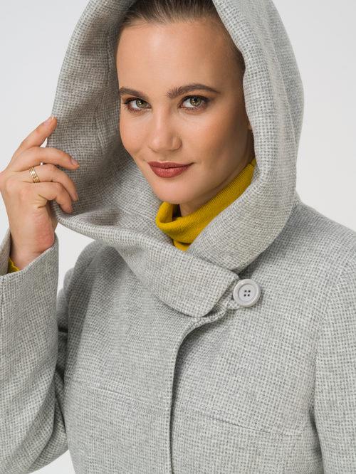Текстильное пальто артикул 29810666/50