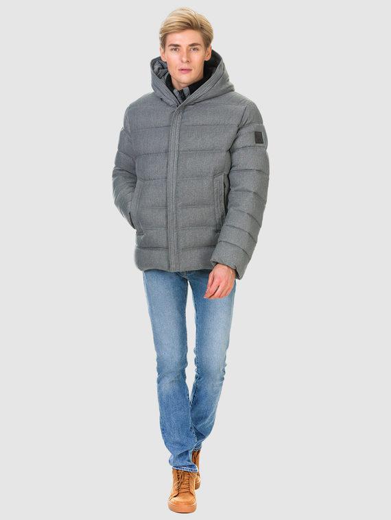 Пуховик текстиль, цвет светло-серый, арт. 29900695  - цена 5890 руб.  - магазин TOTOGROUP