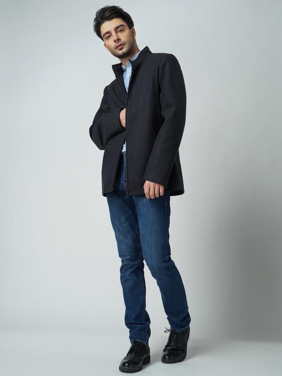 Текстильная куртка 51% п/э,49%шерсть, цвет темно-серый, арт. 30005948  - цена 3990 руб.  - магазин TOTOGROUP