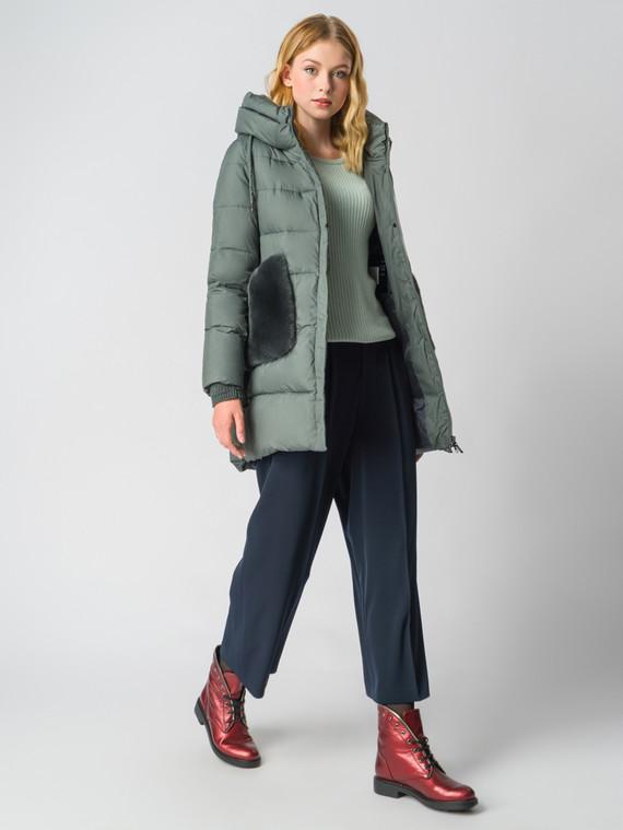 Пуховик текстиль, цвет зеленый, арт. 30006203  - цена 9490 руб.  - магазин TOTOGROUP