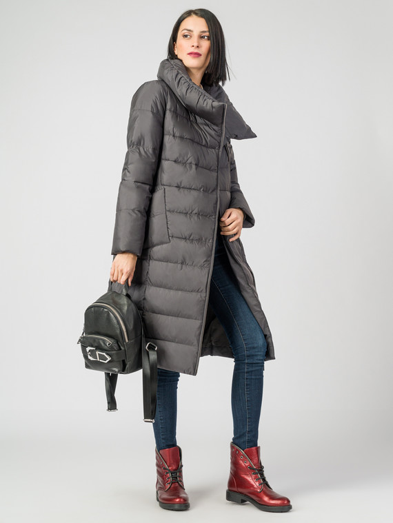 Пуховик текстиль, цвет темно-серый, арт. 30006214  - цена 6630 руб.  - магазин TOTOGROUP