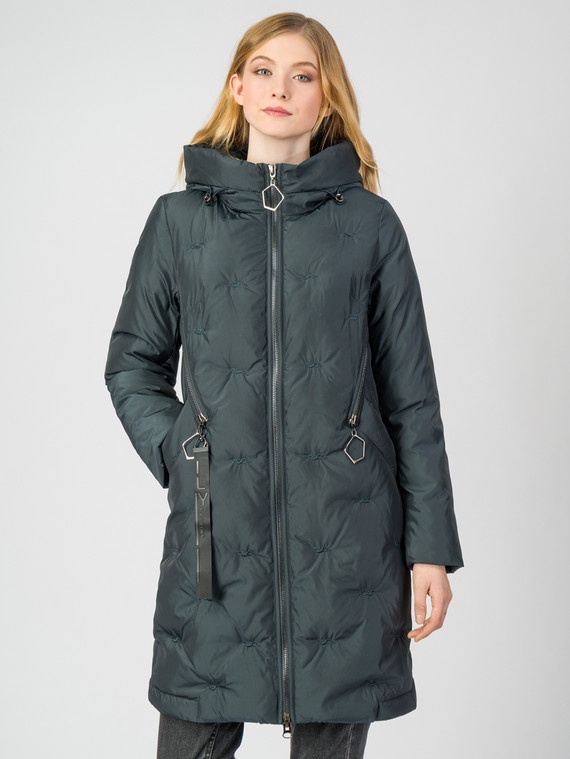 Пуховик текстиль, цвет темно-серый, арт. 30006228  - цена 5290 руб.  - магазин TOTOGROUP