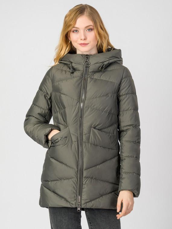 Пуховик текстиль, цвет темно-серый, арт. 30006230  - цена 7490 руб.  - магазин TOTOGROUP