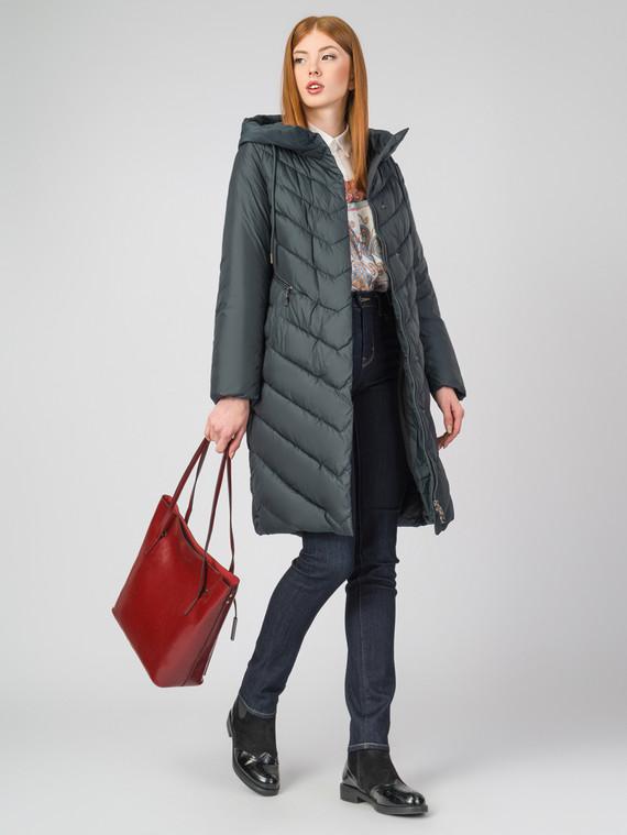 Пуховик текстиль, цвет темно-серый, арт. 30006233  - цена 5290 руб.  - магазин TOTOGROUP