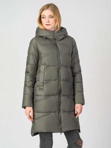 Пуховик текстиль, цвет болотный, арт. 30006234  - цена 4990 руб.  - магазин TOTOGROUP