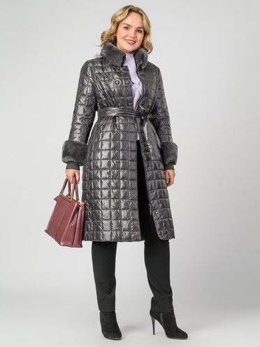 Пуховик текстиль, цвет металлик, арт. 30006244  - цена 11990 руб.  - магазин TOTOGROUP