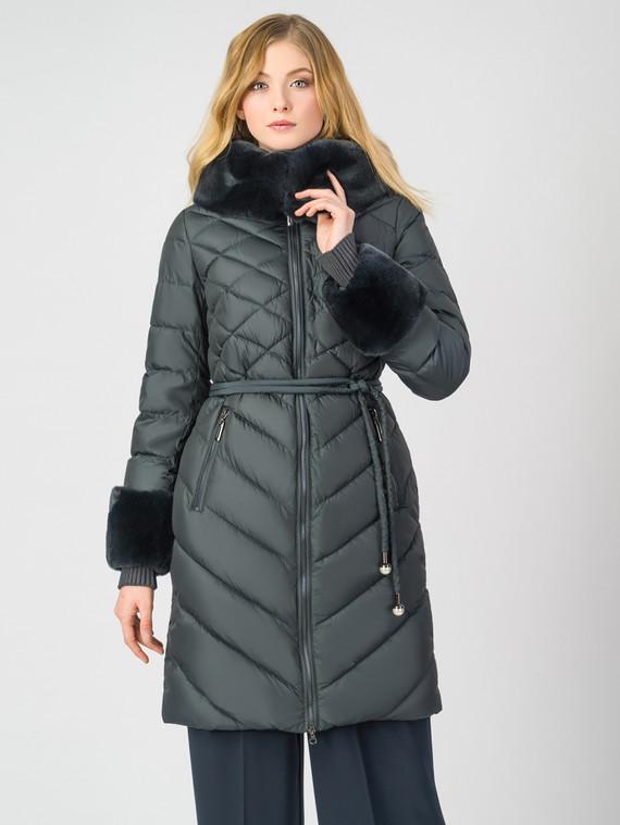 Пуховик текстиль, цвет темно-серый, арт. 30006250  - цена 7990 руб.  - магазин TOTOGROUP