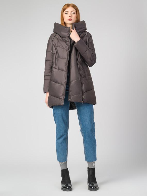 Пуховик текстиль, цвет коричневый, арт. 30006439  - цена 3990 руб.  - магазин TOTOGROUP