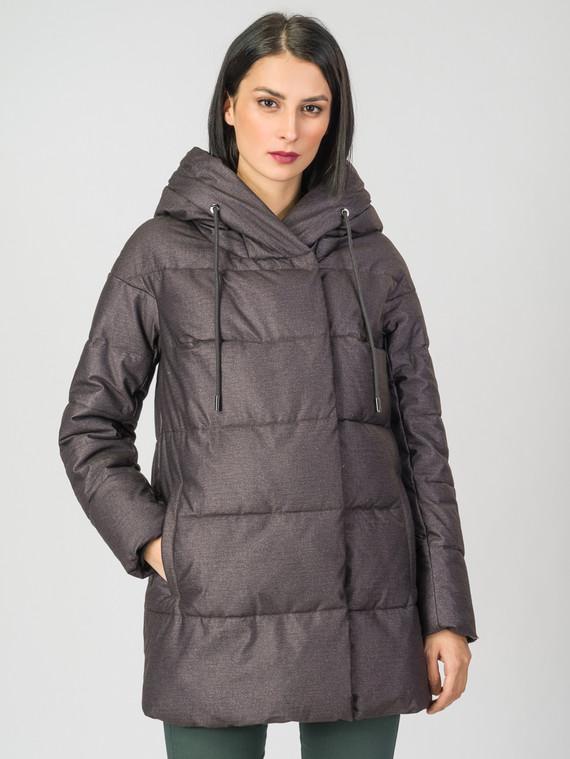 Пуховик текстиль, цвет темно-коричневый, арт. 30006447  - цена 4990 руб.  - магазин TOTOGROUP