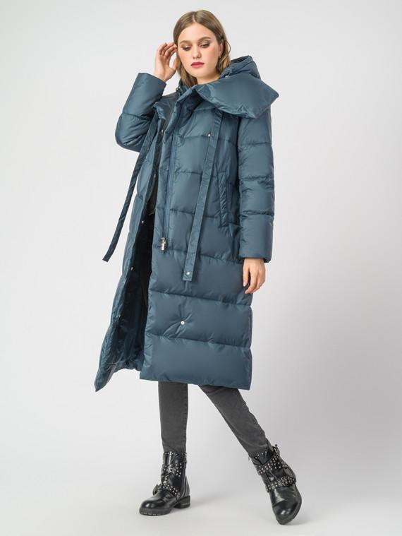 Пуховик текстиль, цвет бирюзовый, арт. 30006656  - цена 9990 руб.  - магазин TOTOGROUP