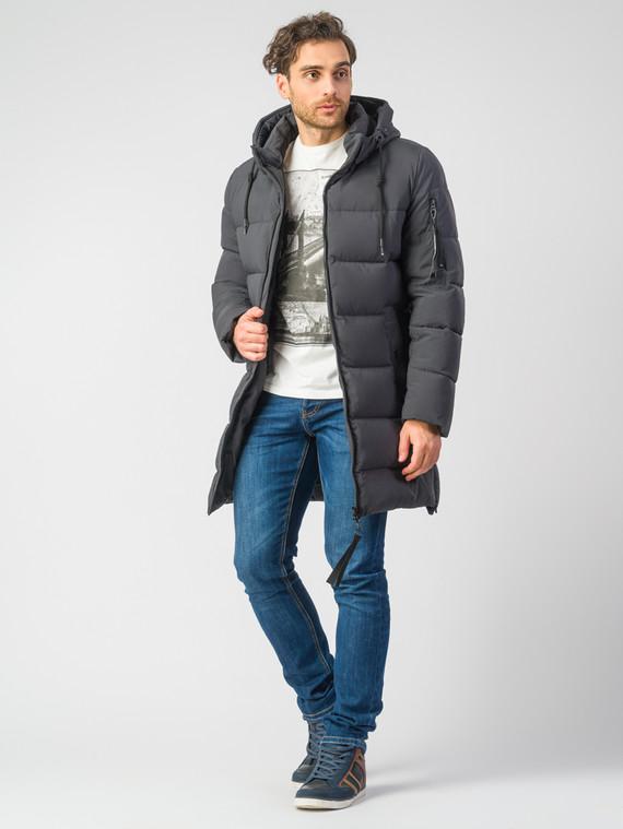 Пуховик текстиль, цвет темно-серый, арт. 30006748  - цена 4490 руб.  - магазин TOTOGROUP