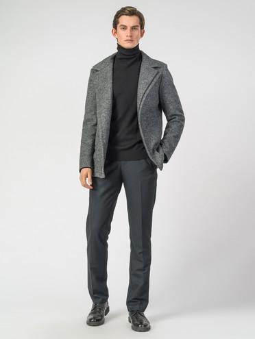 Текстильное пальто 51% п/э,49%шерсть, цвет серый, арт. 30007034  - цена 7490 руб.  - магазин TOTOGROUP